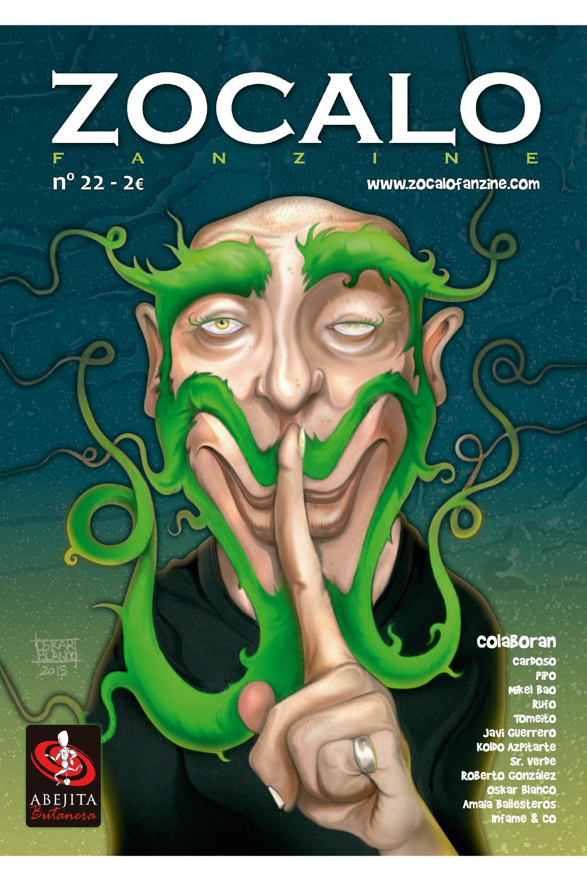 Maquetación ZOCALO fanzine